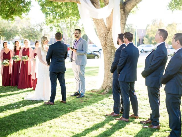 Kyle and Aly's Wedding in Boulder City, Nevada 26
