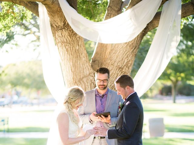 Kyle and Aly's Wedding in Boulder City, Nevada 29