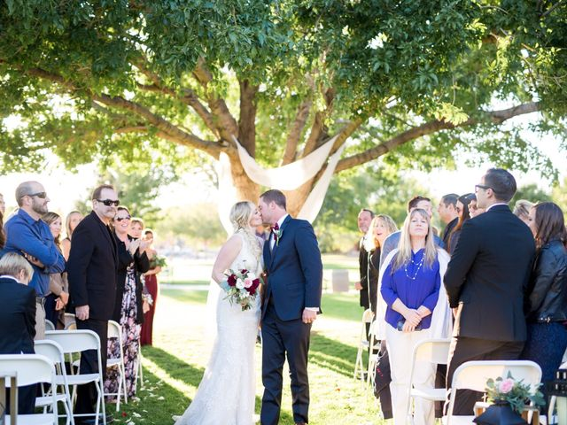 Kyle and Aly's Wedding in Boulder City, Nevada 32