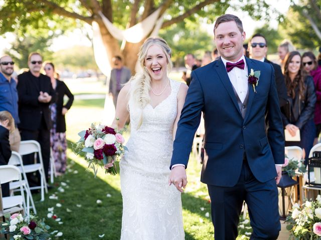 Kyle and Aly's Wedding in Boulder City, Nevada 33