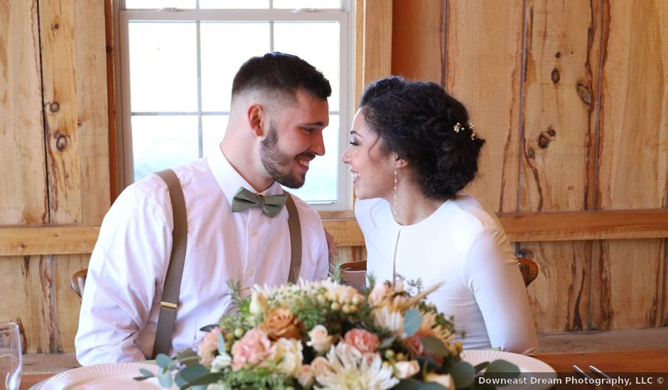 Justin and Jayra's Wedding in Norway, Maine