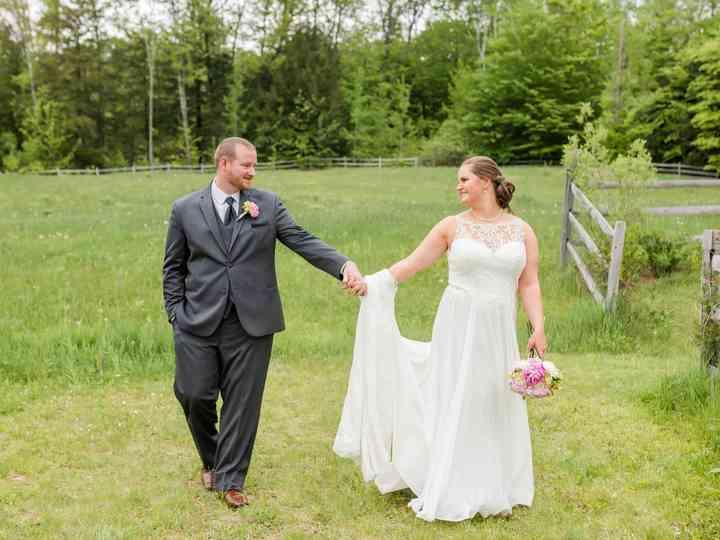 The wedding of Karli and Josh