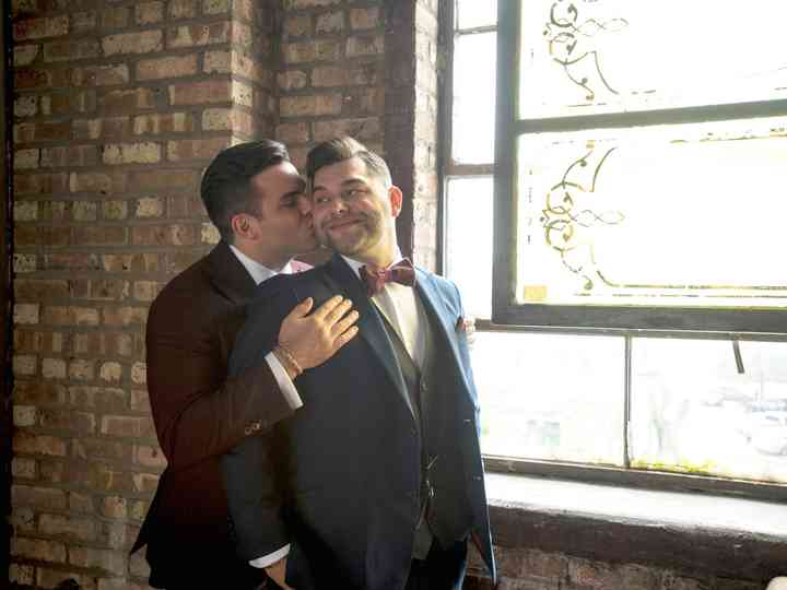 The wedding of Alex and Sean