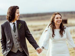 The wedding of Hannah and Marley