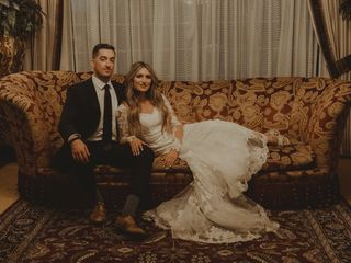 The wedding of Kaitlyn and Max