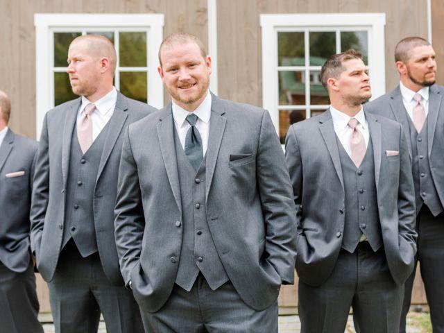 Josh and Karli's Wedding in Wonalancet, New Hampshire 12