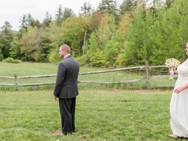 Josh and Karli's Wedding in Wonalancet, New Hampshire 20