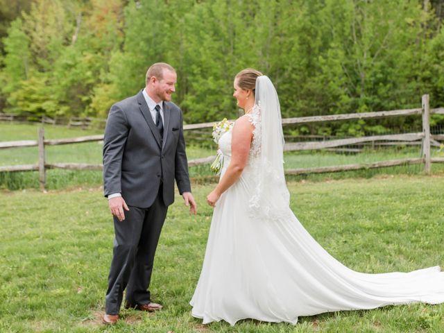 Josh and Karli's Wedding in Wonalancet, New Hampshire 22