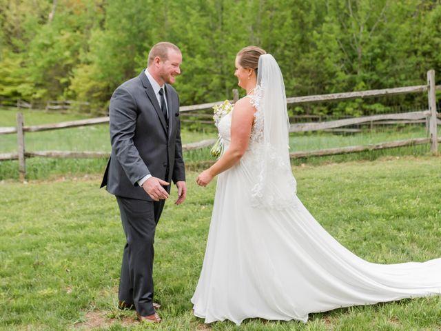 Josh and Karli's Wedding in Wonalancet, New Hampshire 23