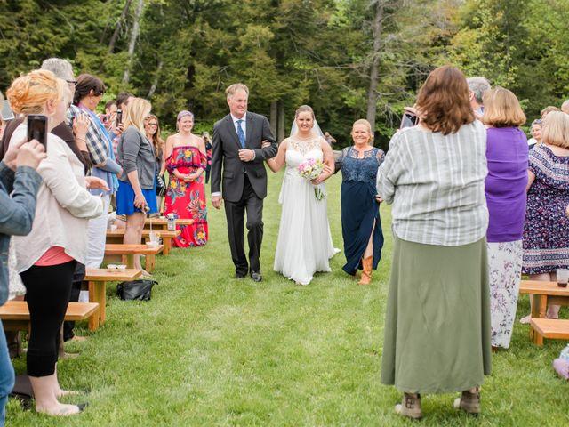 Josh and Karli's Wedding in Wonalancet, New Hampshire 27