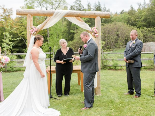 Josh and Karli's Wedding in Wonalancet, New Hampshire 30