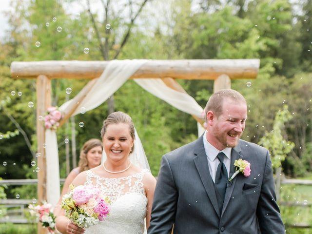 Josh and Karli's Wedding in Wonalancet, New Hampshire 34