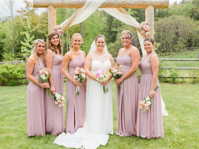 Josh and Karli's Wedding in Wonalancet, New Hampshire 37
