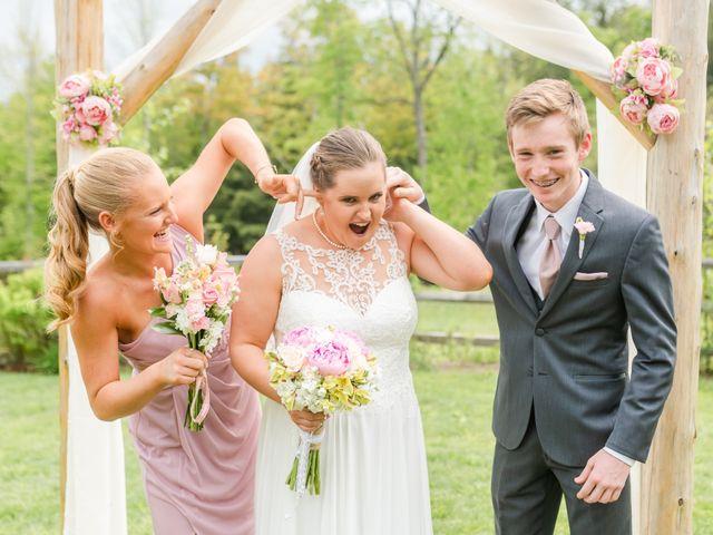 Josh and Karli's Wedding in Wonalancet, New Hampshire 41
