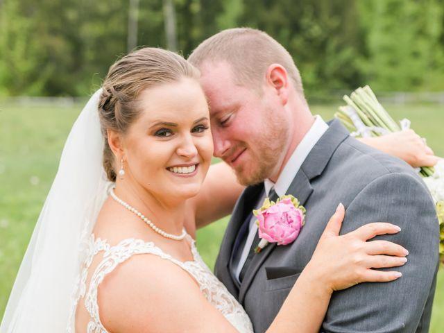 Josh and Karli's Wedding in Wonalancet, New Hampshire 50