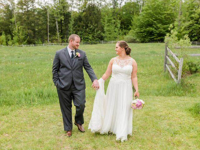 Josh and Karli's Wedding in Wonalancet, New Hampshire 61