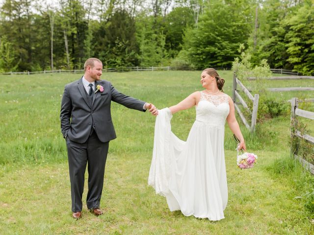 Josh and Karli's Wedding in Wonalancet, New Hampshire 62