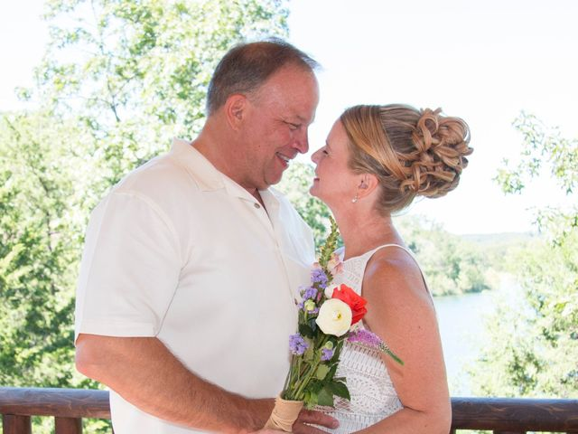 The wedding of John and Laurie