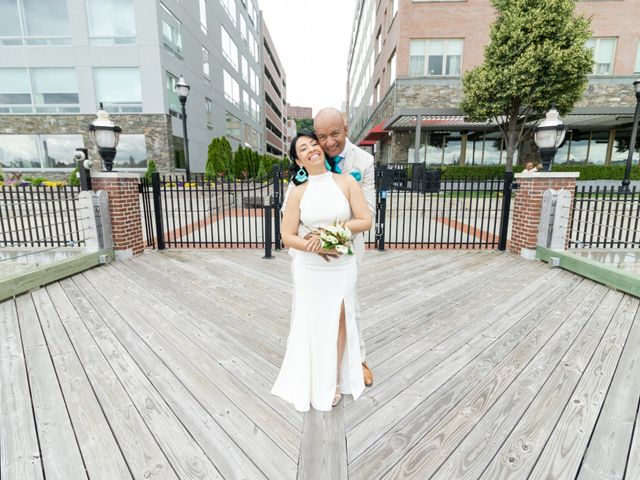 The wedding of Jackie and Eric