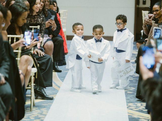 Eden and Kwazi's Wedding in Washington, District of Columbia 80
