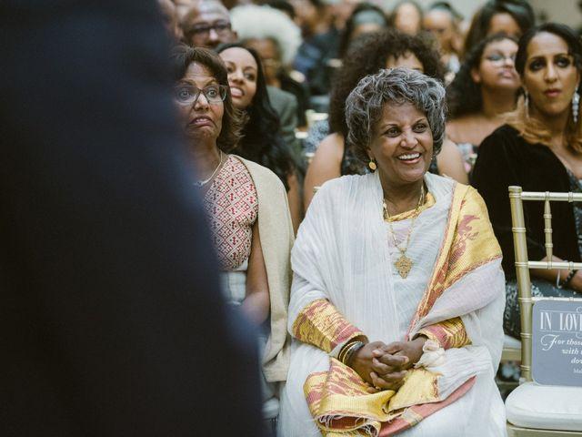 Eden and Kwazi's Wedding in Washington, District of Columbia 86