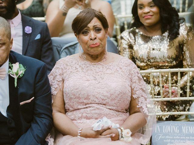 Eden and Kwazi's Wedding in Washington, District of Columbia 91