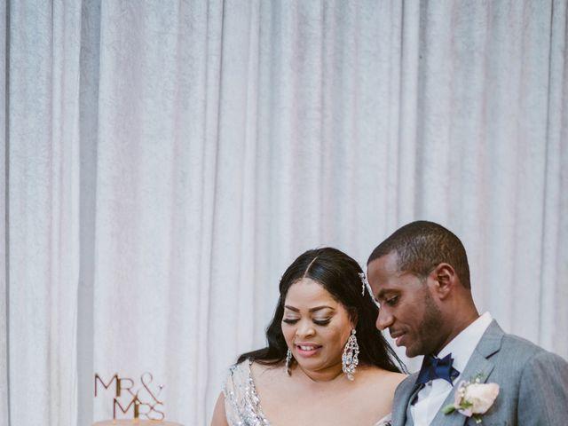 Eden and Kwazi's Wedding in Washington, District of Columbia 94