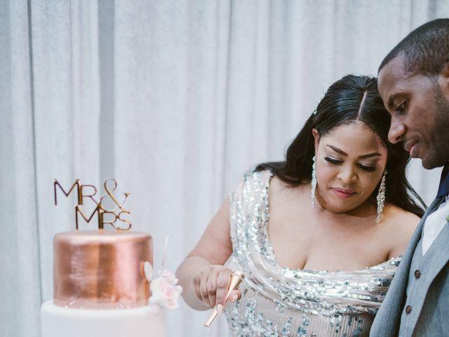 Eden and Kwazi's Wedding in Washington, District of Columbia 95