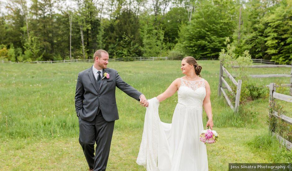 Josh and Karli's Wedding in Wonalancet, New Hampshire