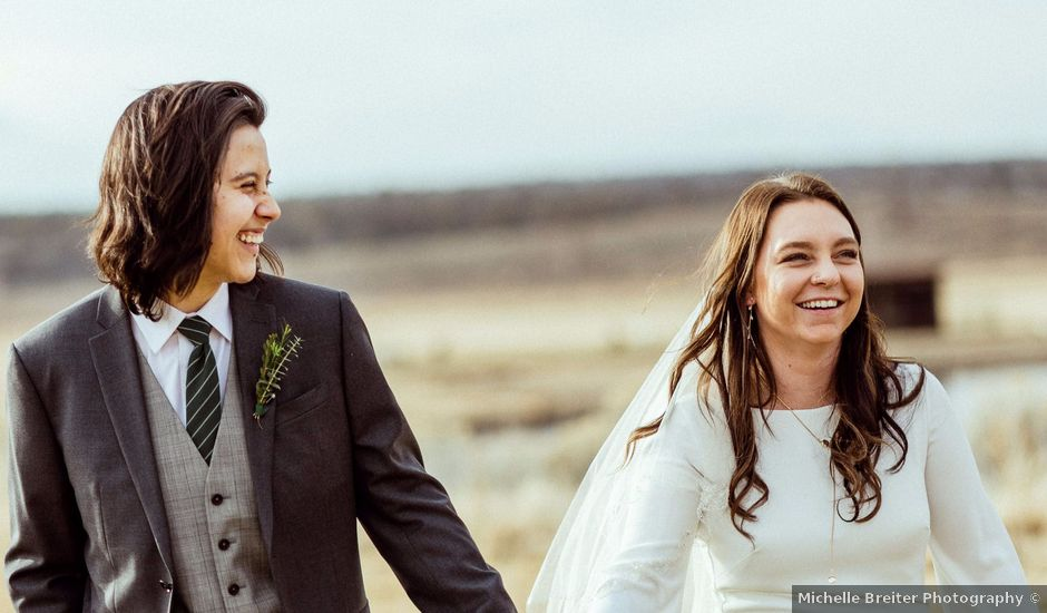 Marley and Hannah's Wedding in Powell Butte, Oregon