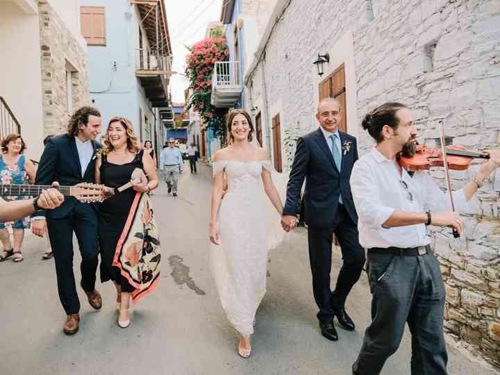 The wedding of Katerina and Phedias