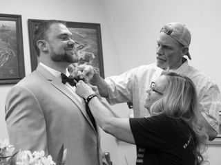 The wedding of Sawyer and Allyson 1