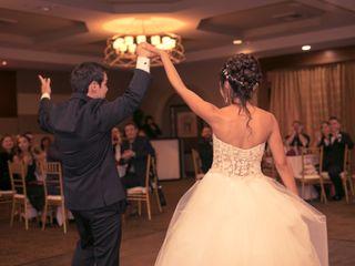 The wedding of Kim and Tim