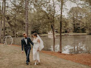The wedding of Elizabeth and Chad 1