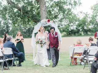 The wedding of Elyssa and Joshua