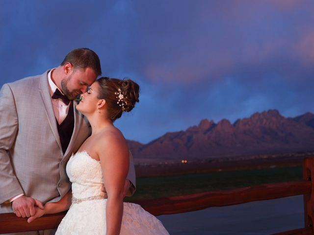 The wedding of Sawyer and Allyson