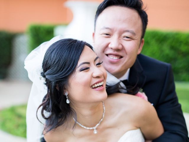The wedding of Shelley and Bo Li