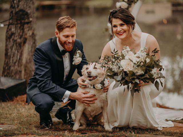The wedding of Elizabeth and Chad