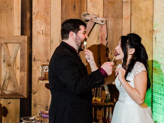The wedding of Josh and Nissa