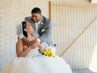The wedding of Brittney and Jahmal