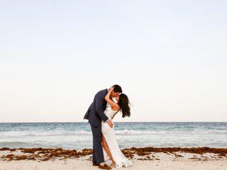 The wedding of Xhemile and Stephen