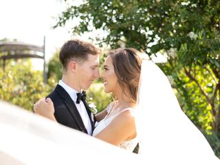 The wedding of Claire and Aaron
