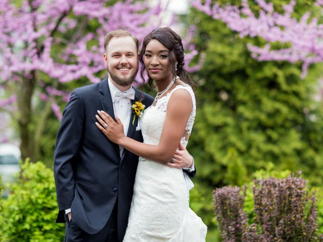 The wedding of Deja and William