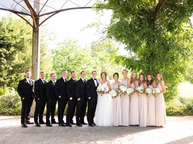 Aaron and Claire's Wedding in McKinney, Texas 16