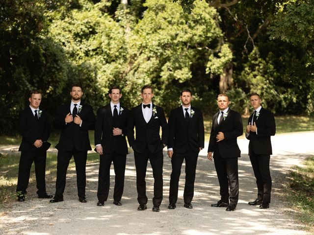 Aaron and Claire's Wedding in McKinney, Texas 17