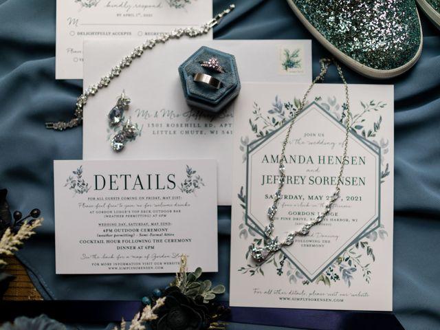 Jeff and Amanda's Wedding in Baileys Harbor, Wisconsin 5