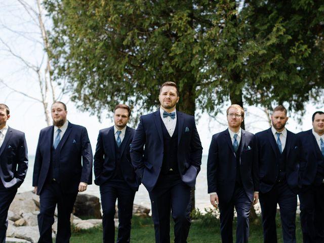 Jeff and Amanda's Wedding in Baileys Harbor, Wisconsin 11