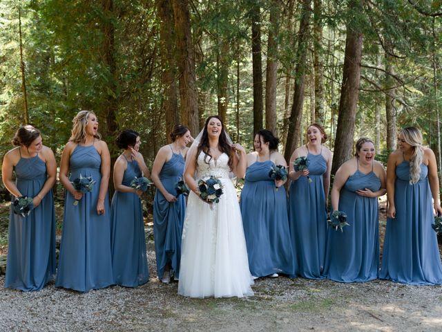 Jeff and Amanda's Wedding in Baileys Harbor, Wisconsin 20