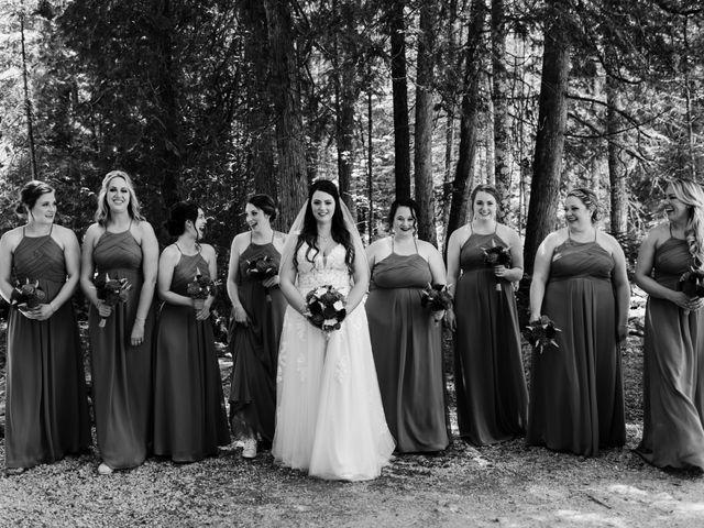 Jeff and Amanda's Wedding in Baileys Harbor, Wisconsin 21