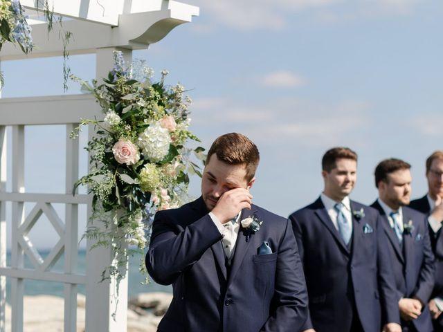 Jeff and Amanda's Wedding in Baileys Harbor, Wisconsin 37